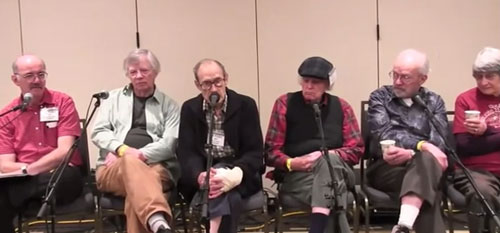 panel of Old Timers
