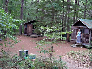 A cluster of cabins on the Hill (photo by Bruce Holmes) 1bacdc4e