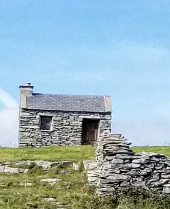 Stone cottage in Ireland