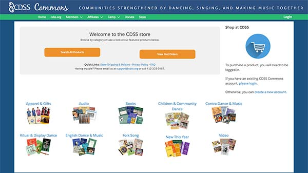 New CDSS Store