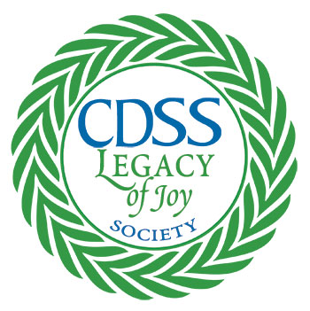 legacy of joy wreath logo