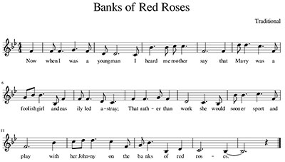 Banks of Red Roses