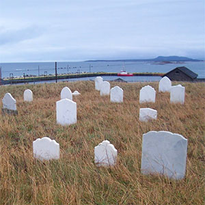 Cemetery in Newfoundland